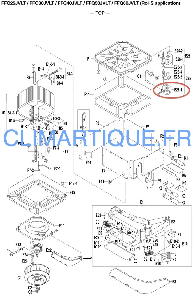 pompe de relevage condensats 139370j e25 1 ffq j clim artique. Black Bedroom Furniture Sets. Home Design Ideas